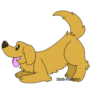 Cute Dogs - Golden Retriever by Sloth-Power