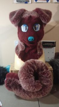 Husky Puppy Partial Project by PawthenticCreations