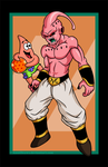 Buu vs. Patrick by AnutDraws