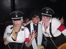 A Priest With Two Busty Nazis by Spoilers-Ahead