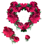 Red Roses Exclusive pack 1 by IgnisFatuusII