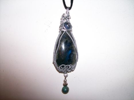 Wirewraped Pendant by RayinSevotharte