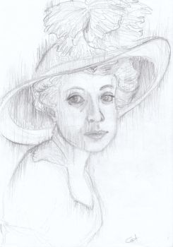 Portrait of Dorothy Gibson by Cat-astrofe
