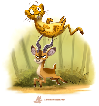Daily Paint #1242. Impalea by Cryptid-Creations