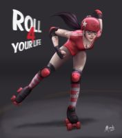 Roll 4 your life by Mauricio-Morali