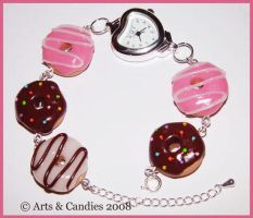 Original Frosted Donut Watch by Ambient-Lullaby