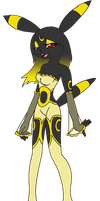 NEW Umbreon furry by rachaelbat