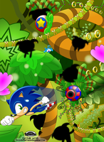 Sonic Lost World collab - Silent Forest ambush by MarkProductions