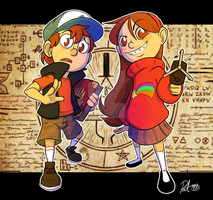 Gravity Falls by RefutableRapscallion