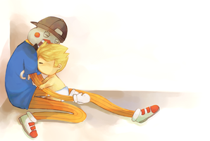 baby dirk and lil cal - homestuck by LaWeyD