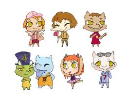 7 Little Monsters by neohin