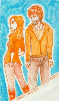 Warm Bodies Julie and R by tilt-the-heavens