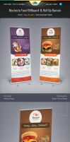 Bestaste Food Billboard and Roll Up Banner by Saptarang
