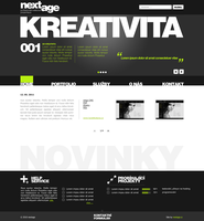 nextage website by kadera-jan