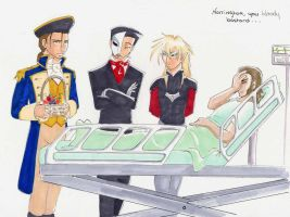 Roommates 17 - Hospital by AsheRhyder