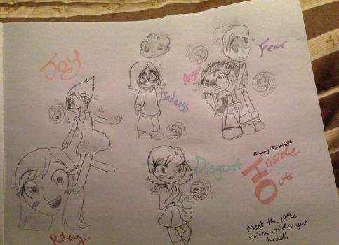Inside Out chibis ^3^  by SonicSailorKeyblade