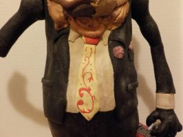 Leatherface Bubba potatohead tie by Potatoheadmaster