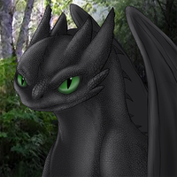Toothless Drawing by dragonfire1000