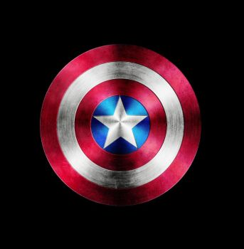 Captain America Shield In Photoshop by undersc0r3