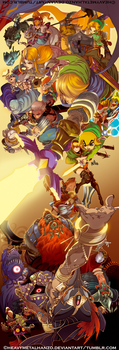 Hyrule Warriors by HeavyMetalHanzo