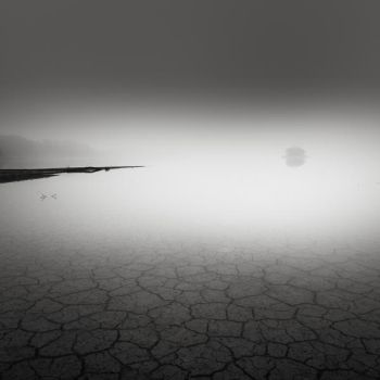 Fog at the lake bed IV by EmilStojek