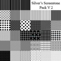 Silver's Screentone Pack V2 by silverwinglie