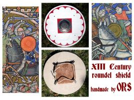 XIII Century roundel shield by enrico-ors-91