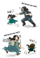 The Hobbit:: Like Mother, Like Son by caylren