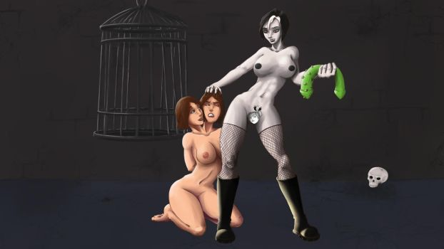 Pam dominate the Twin censored by penrush