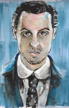 Moriarty. by BowieKelly