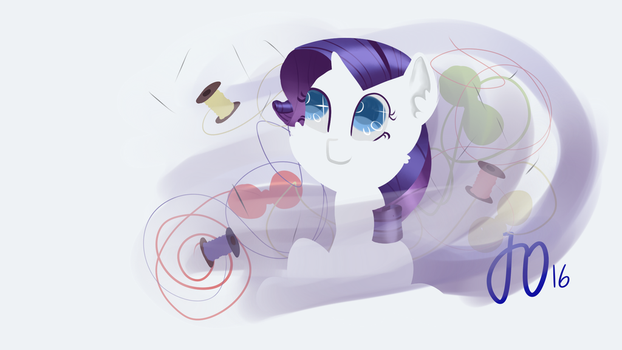 Rarity[1/6] by EquestrianSketcher