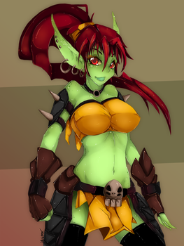 Miss Goblin by Slugbox