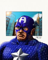 Captain America by GraySceal