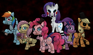 Five Nights at Pinkie's by ChibiFox12