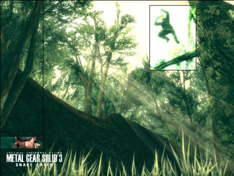 Snake Eater Wallpaper. by Brendeth