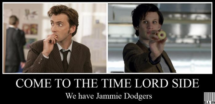 Demotivational - Come To The Time Lord Side by GreenArcherAlchemist