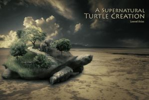 A supernatural turtle creation by leonelmail