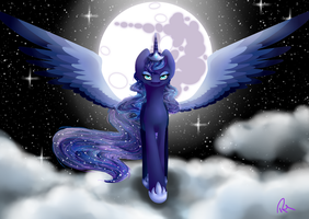 Princess of the Night by Moon-Wing