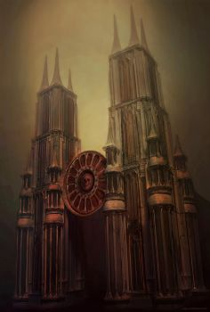 Cathedral of Pain by Vitaj