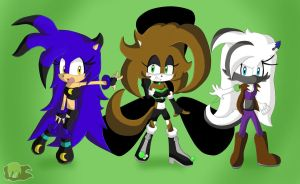 Comission: Team Toxic by Flame-of-Icarus
