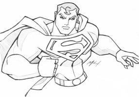 SUPERMAN SKETCH by icemaxx1