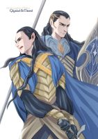 Elrond and Gil-galad by navy-locked
