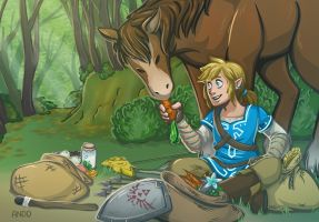 Breath of Fresh Air by Draw-out-loud