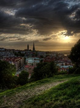 Goteborg Hill Top View by InayatShah