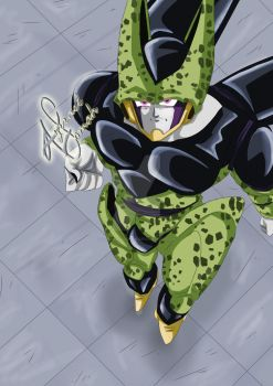 Cell vs ? by Azrrael-domah