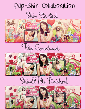 Collab Shin and Pp by PapCucheo