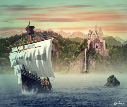Sailing away by barbranz