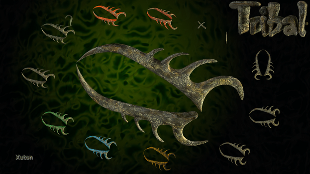 Tribal Fossil by Xuton