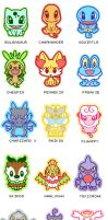 Pokemon stickers series 1