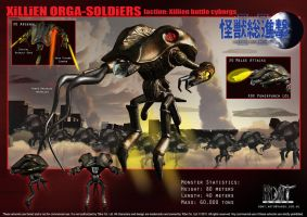 Xillien Orga-Soldiers by LDN-RDNT